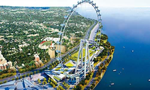 纽约史丹顿岛巨型摩天轮 解雇建筑商竣工无期