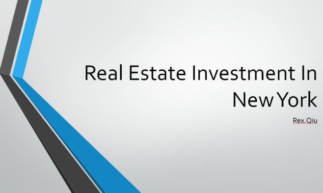 地点视频:在纽约如何做房地产投资