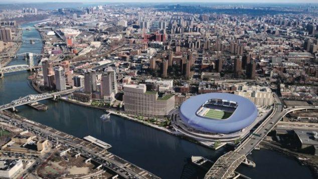 布朗士或建纽约市首个足球场